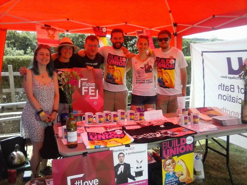 Bath UCU at Tolpuddle 2015