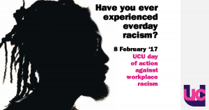 UCU Day of Action Against Workplace Racism